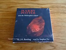 Brand New Harry Potter Philosopher's Stone Audio Book CD Adult Ed Stephen Fry