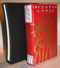 NAME OF THE ROSE by UMBERTO ECO FOLIO SOCIETY ILLUSTRATED AS NEW