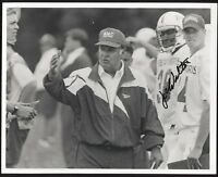 Joe Walton Signed 8x10 Photo College NCAA Football Coach Autographed