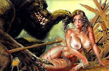 CAVEWOMAN FEEDING GROUNDS #1, BUDD ROOT Special Edition, NUDE Cover Nice! NM New