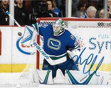 Vancouver Canucks Jacob Markstrom Signed Autographed 8x10 NHL Photo COA G