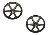 "20"" WheelSet  MAG PLASTIC 6-SPOKE Rear Freewheel Cruiser Lowrider BMX Bicycle"