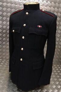 Genuine British Army Gibraltar Regiment Issued No1 Dress OR Jacket Red Pipe