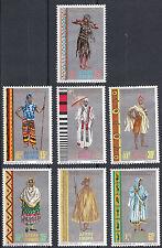 Ethiopia: 1968 Ethiopian Regional Costumes,  MNH