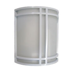 White Contemporary Wall Light Fixture