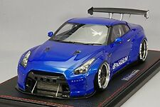 RARE Ignition model IG 1001 PANDEM R 35 GT-R Blue metallic From Japan F/S