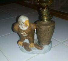 Vintage Eagle mini Oil Lamp