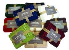 Bamboo Bath Towels & Washcloths