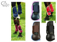 Ekkia Comfort Tendon Boots Horse Shock Absorb Protection Colours Size FREE P&P
