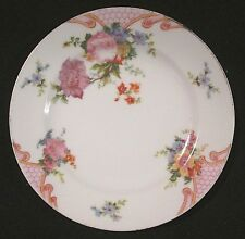 Bridal Rose (White Background) by EPIAG Bread and Butter Plate Czechoslovakia