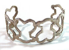 TAXCO .925 Sterling Silver Unique Cuff Bracelet Handcrafted from Mexico