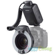 YongNuo YN-14EX LED TTL Macro Ring Flash Light for Canon EOS DSLR Camera MR-14EX