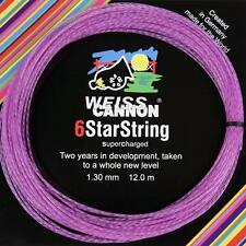 Corde Tennis WEISS CANNON 6 Star String Viola n.8 matassine 12m multifilamento