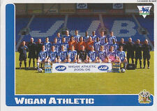 N°500 TEAM WIGAN ATHLETIC STICKER MERLIN PREMIER LEAGUE 2006