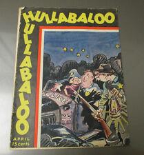 1932 HULLABALOO Magazine v.1 #2 GD Cartoons Humor