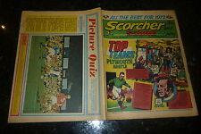 SCORCHER & SCORE Comic - Date 01/01/1972 - UK Paper Comic
