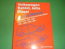 VW Rabbit Jetta Pickup DIESEL Bentley Repair Manual NEW