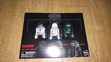 "Star Wars Black Series Astromech Droids figuras serie 6"" nuevo R2-D2 Rojo escuadrón"