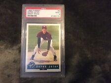 1992 Classic New York Yankee Derek Jeter 6 Rookie PSA MINT 9, 21454721