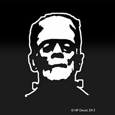 Frankenstein Movie Boris Karloff Iconic Scary Movie White Oracal Decal