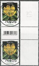 Winterling 10 Cent - Paar mit EAN-Code (200er-Rolle) - gestempelt - Mi.Nr. 3314