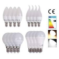 4x10x LED E14 E27 Warmweiß Kaltweiß Kerze Glühbirne Birne strahler Leuchtmittel