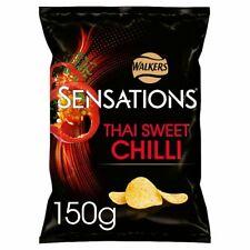 Sensations Thai Sweet Chilli Crisps 150g Case of 12