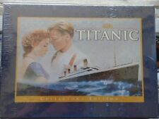 Titanic Collector's Edition VHS Gift Set with Photo Book, Filmstrip Clip -Sealed