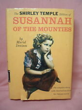 Vintage 1930's Shirley Temple in Susannah of the Mounties Book Hardcover