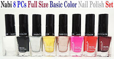8pcs nabi nail polish Basic Color Nail Polish Set