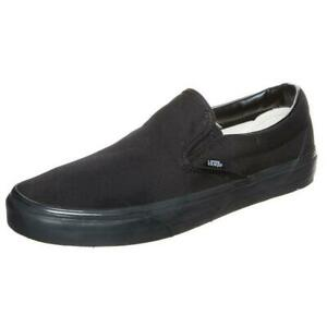VANS »CLASSIC SLIP-ON« HERREN SCHUHE FREIZEITSCHUHE SNEAKER SCHWARZ GR. 40 NEU