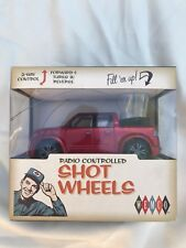 Wemco New Radio Controlled Shot Wheels Remote car With Shot Glass Novelty Gift
