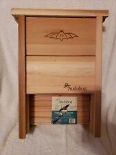 Audubon Cedar Bat Shelter Model 24228 Nabat Handcrafted