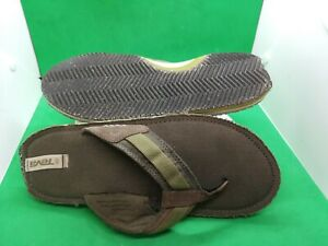 Teva 6178  Pajaro Dune Flip Flops Olive Gray Sandals Mens Size 10 / 43