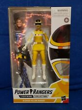 Lightning Collection Power Rangers in Space Yellow Ranger Ashley Hasbro NEW