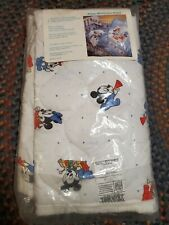 """New listing Vintage New Sealed Disney Babies Quilted Blanket 35""""x42"""" Mickey Mouse Band"""