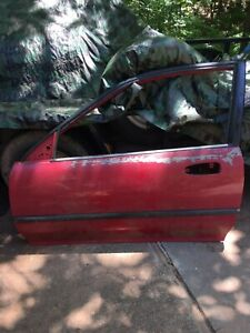 HONDA CIVIC COUPE DRIVER SIDE DOOR 1992-95 93 94