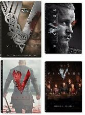 Vikings: The Complete Series Seasons 1-4  1,2,3,4 (Volume1) DVD NEW Free shiping