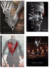 Vikings: The Complete Series Seasons 1-4  1,2,3,4 (Volume1) DVD NEW Free shiping