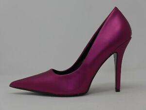 Fashion Nova Zed1 Magenta pointed toe stiletto high heels Women's US size 11