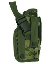MOLLE Woodland Digital Ambidextrous Gun Holster BB Air Pistol Hand Tactical 307W