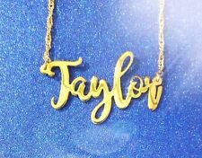 Personalized Name Necklace 24K Gold-plated - Any Name necklace ,  Name Jewelry