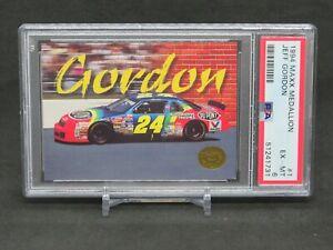 1994 MAXX  MEDALLION RACING NASCAR JEFF GORDON #1 PSA 6 EB