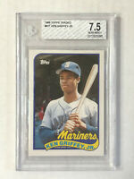 KEN GRIFFEY JR 1989 Topps Traded SP RC #41T! BGS NR-MT+ 7.5! CHECK MY ITEMS!