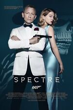 JAMES BOND SPECTRE 24x36 poster 007 DANIEL CRAIG ONE SHEET BRAND NEW NEVER HUNG!