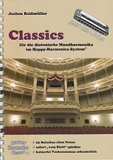 Harmonica-juego cuaderno sin notas: Classics-para Bluesharp