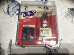1988 Starting Lineup Michael Jordan Rookie Chicago Bulls Basketball Figure/Card