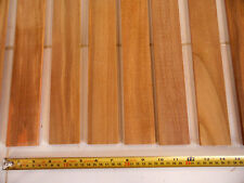 1/4 inch thick (0.25 inches) x 2 inch wide 100% heartwood teak for boat decking