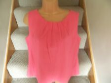 Pretty Pink sleeveless top, , size16, NEW WITH TAGS from BHS