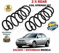 FOR FORD MONDEO MK3 SALOON + HATCHBACK 2000-2007 NEW 2 X REAR COIL SPRING SET